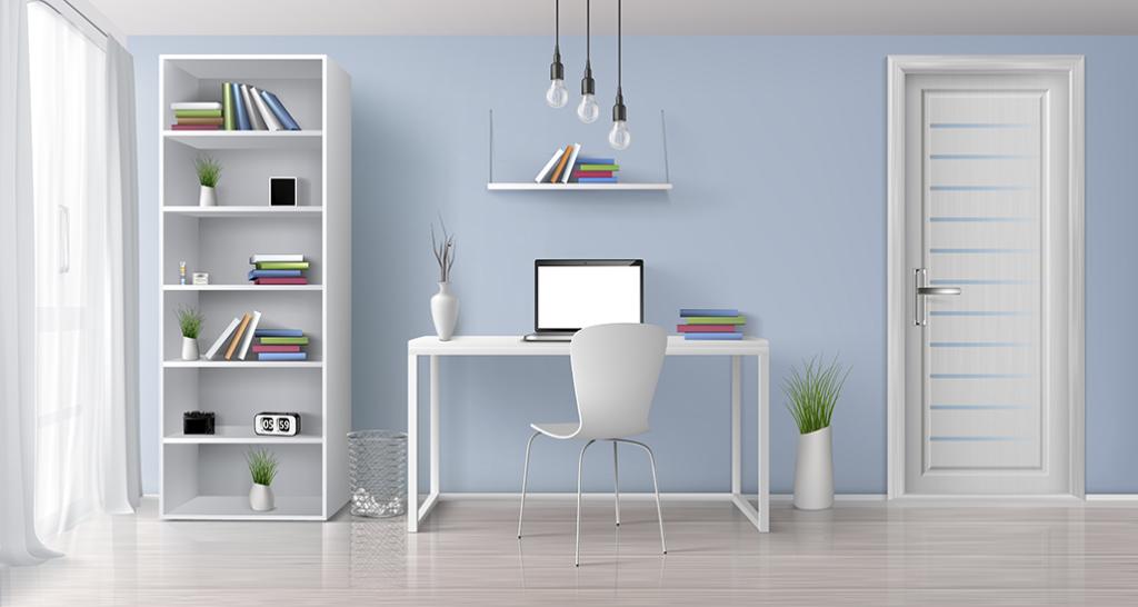 Home page image interior design door
