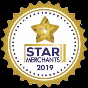 5 star merchant award 2019