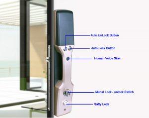 9100-6 digital lock